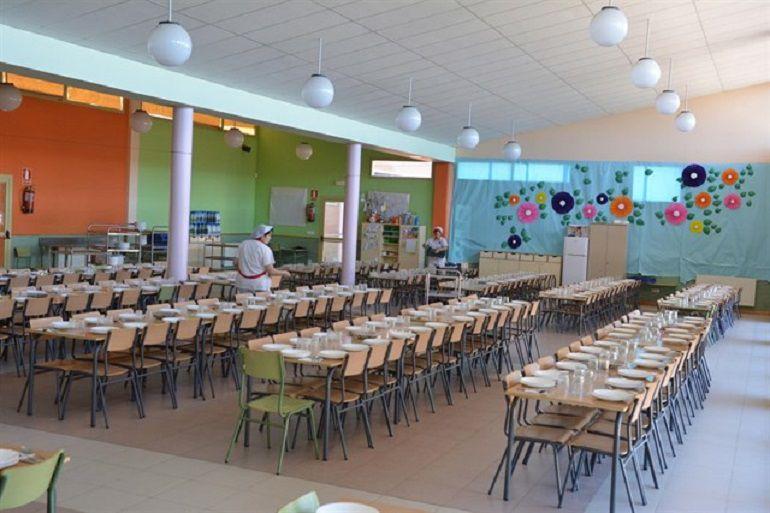Comedor escolar. Europa Press.