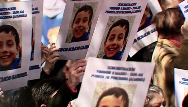 El pequeño Gabriel fue estrangulado el mismo día de su desaparición.