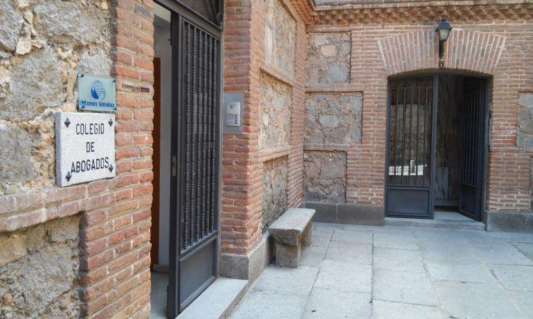 Sede del Colegio de Abogados de Ávila