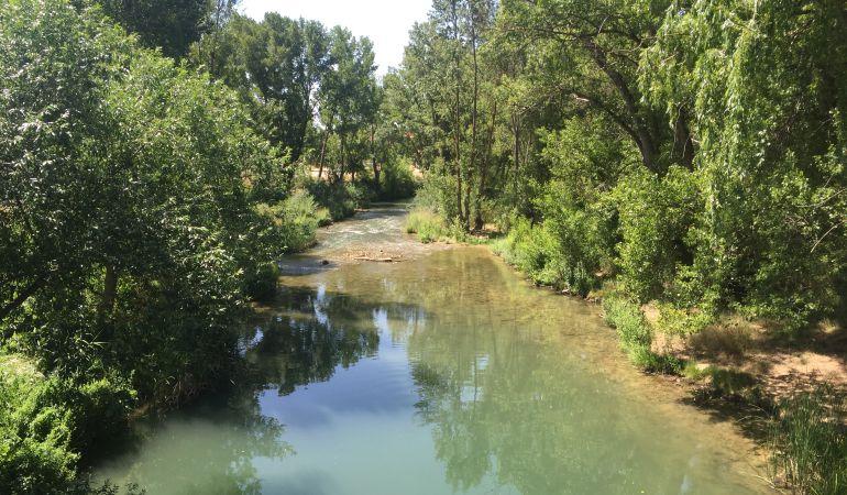 El río Júcar a su paso por Cuenca, en una imagen de archivo