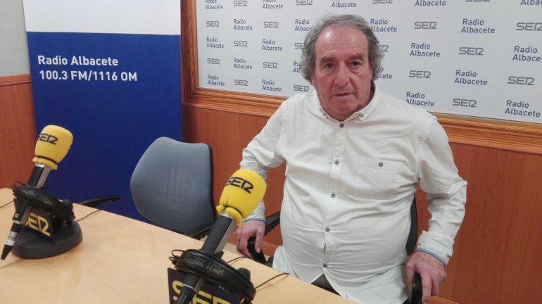 """Julián Rubio: """"Me gusta el sello que Enrique Martín le ha dado al Albacete"""""""