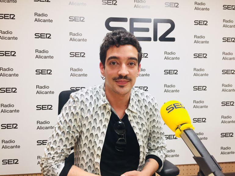 'Muerdo' en los estudios de Radio Alicante