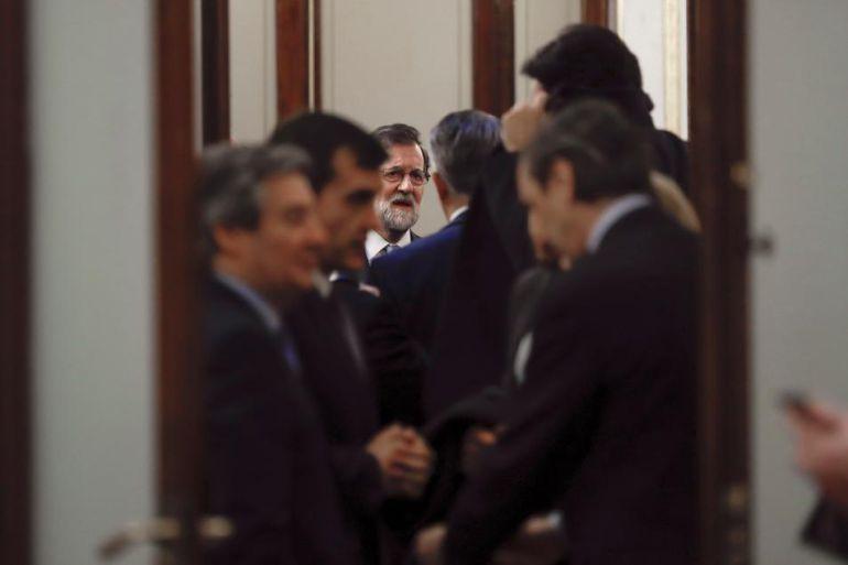 Los partidos vascos en el Congreso rechazan la intervención de Rajoy