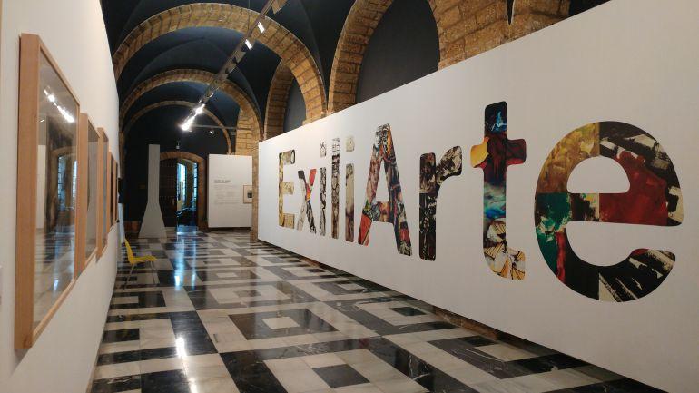 Muestra 'Exiliarte' en la Diputación de Cádiz
