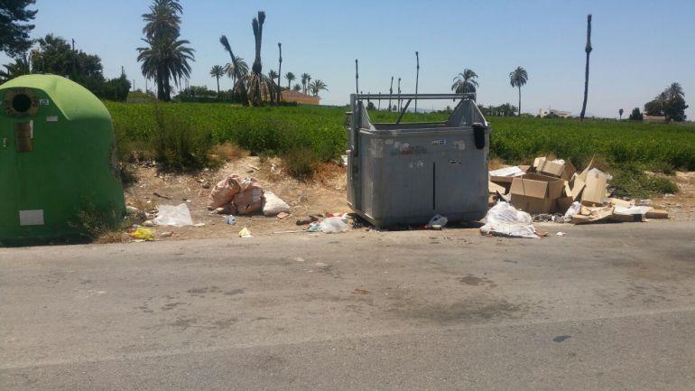 Contenedores de recogida de basura