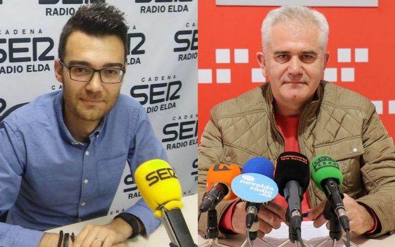 Martínez y Mira candidatos a la Secretaría General del PSOE en Novelda