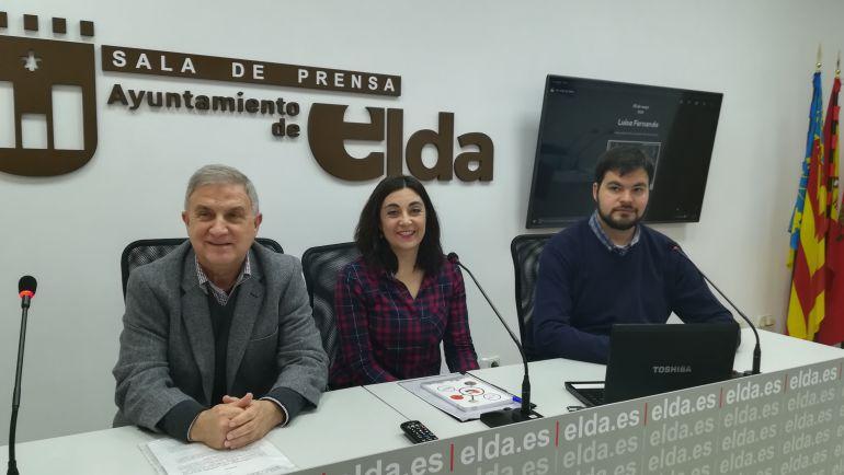 Francis Valero, Nieves López y Miguel Ángel Rubio