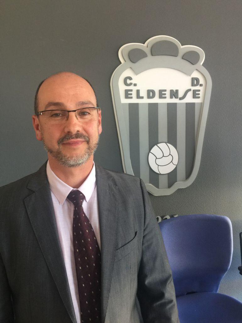 José María Roig, presidente del C. D. Eldense