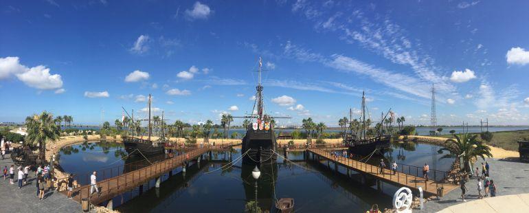 El Muelle de las Carabelas festeja el 525 del regreso de Cristóbal Colón