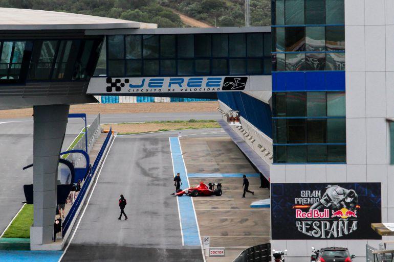 Entrenamientos de GP 3 Sries en el Circuito de Jerez