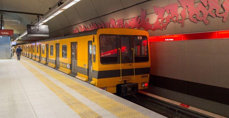 Imagen del Metro de Buenos Aires