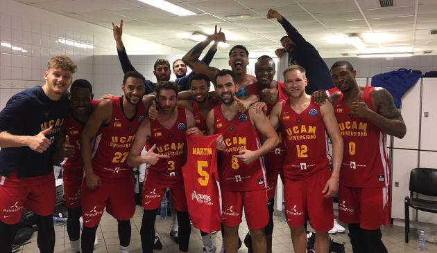 ¡Histórica clasificación del UCAM Murcia para los cuartos de Champions!