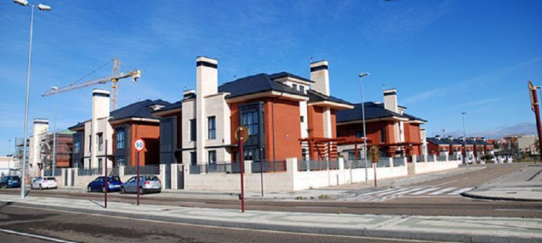 Zona del Paseo de la Julia en Palencia