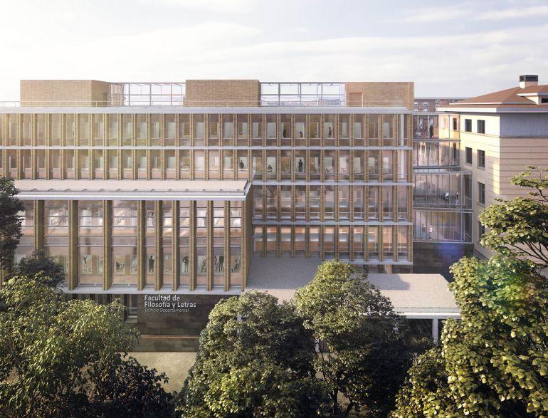 Proyecto de reforma de la Facultad de Filosofía y Letras, en el campus de San Francisco de la Universidad de Zaragoza