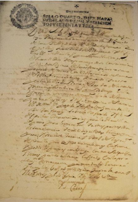 Año 1673. Pleito entre un agricultor y un ganadero por destrozos en un barrillar