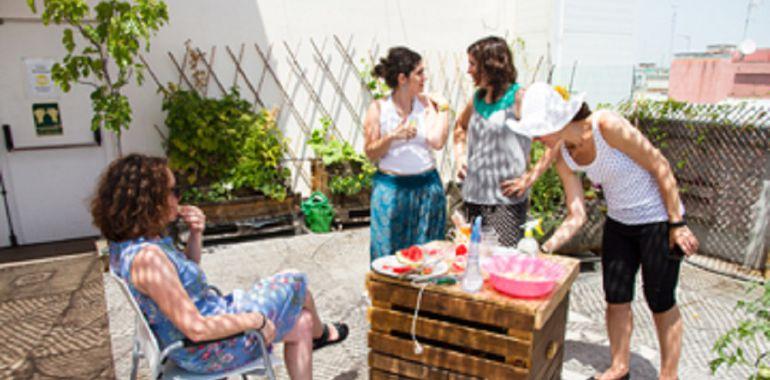 """Entrevista con una de las reponsables del proyecto del Hamacódromo que se instalará en Finca Liana en Móstoles: Hamacódromo un espacio para la """"pereza"""" en Móstoles"""