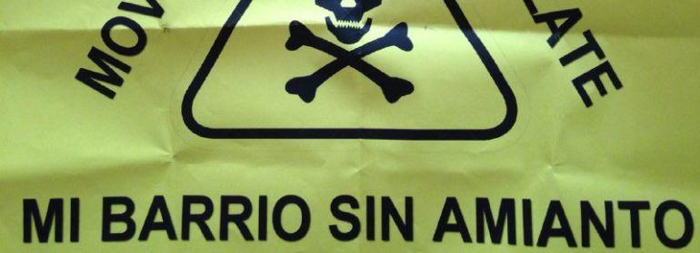 Los vecinos insisten en pedir amparo al Defensor del Pueblo por el amianto