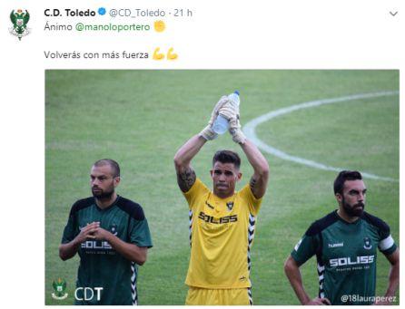 Dos partidos de sanción para Tomás Sánchez