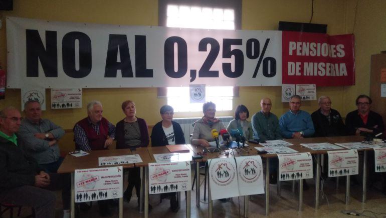 Unidos en la Ribera en defensa de las pensiones