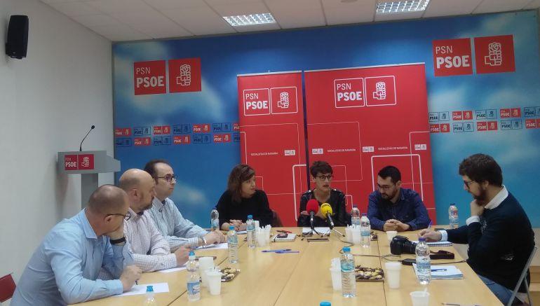 Desayuno informativo del PSN en Tudela