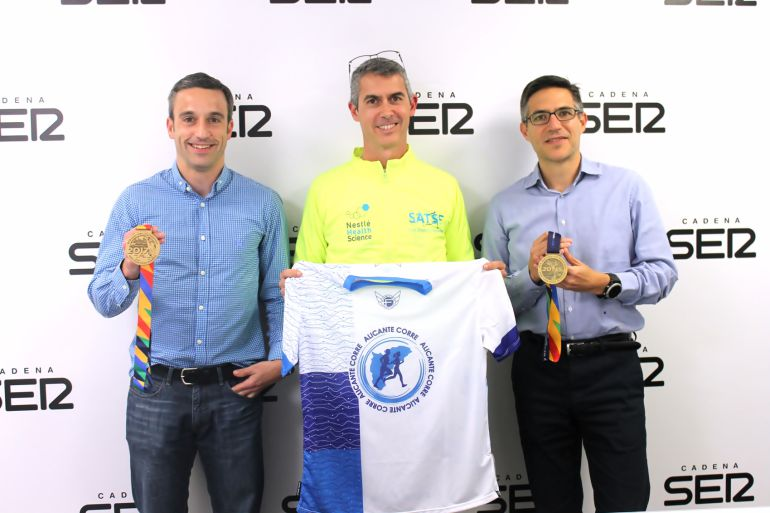 Alberto Cordero, José Luis Jimenez y Pablo Candela