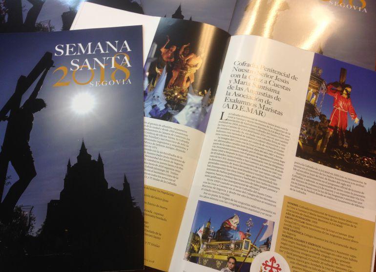 Revista publicada por la Junta de Cofradias de Segovia