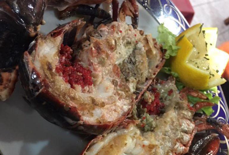 Un plato de A Rotonda, en Lugo