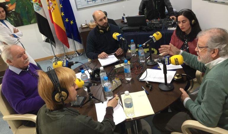 Extremadura a 2: Juan Carlos Rodríguez Ibarra y Jesús Usón