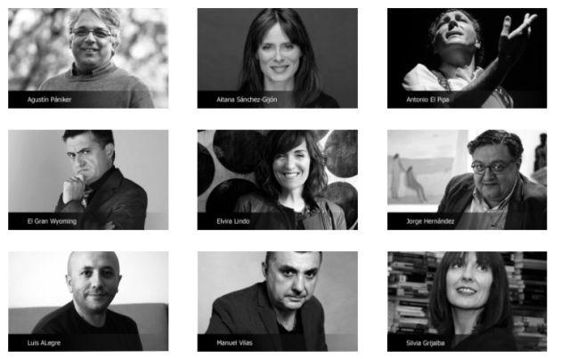 Algunos de los ponentes que participarán en los Congresos del Bienestar