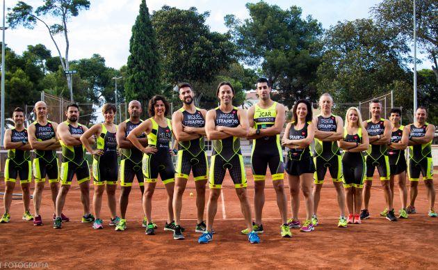 Triatletas del Club Deportivo Triarios