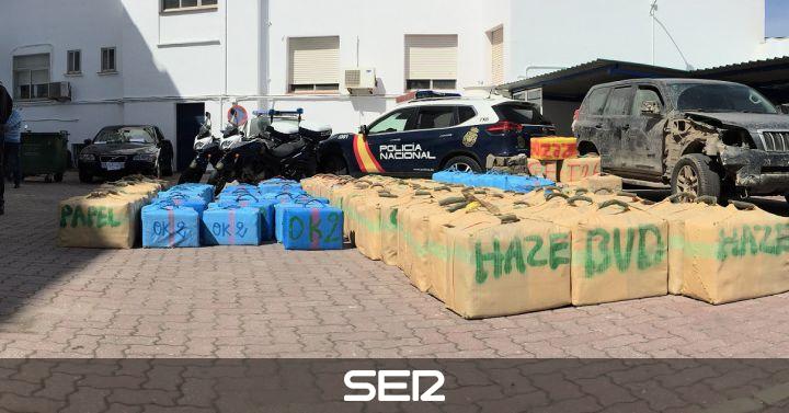 Policial la polic a se incauta de casi diez toneladas de - Policia nacional algeciras ...