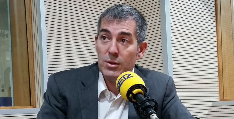 Fernando Clavijo en la SER
