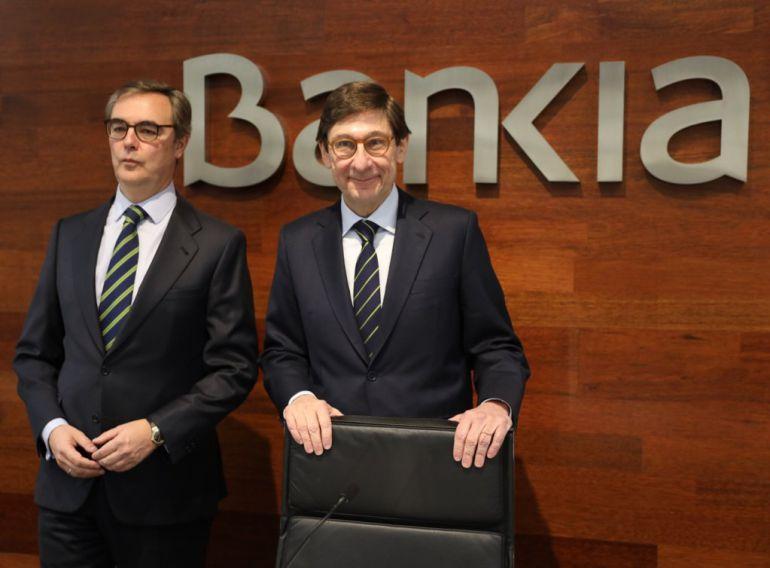 Goirigolzarri y José Sevilla presentan el Plan Estratégico 2018-2020 de Bankia