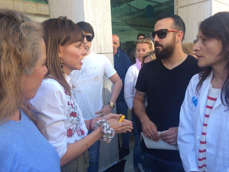 """Residencias: Lydia Jurado: """"No renunciamos al servicio de hospital en Cas Serres"""""""