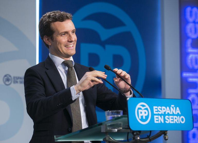 Noticias Ávila: Pablo Casado defiende la legalidad y validez de su máster