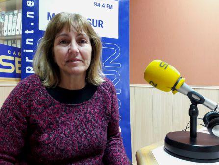 Carmen Bernete, responsable de Autoescuela Madrid Sur en Humanes de Madrid.