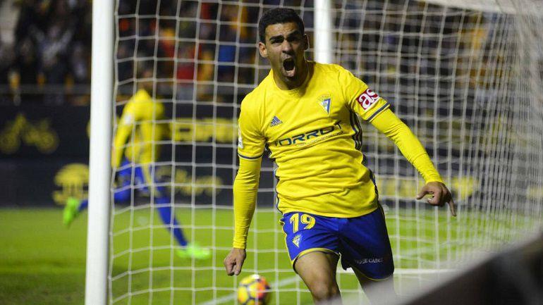 Dani Romera espera vovler a celebrar goles con la camsieta del Cädiz CF