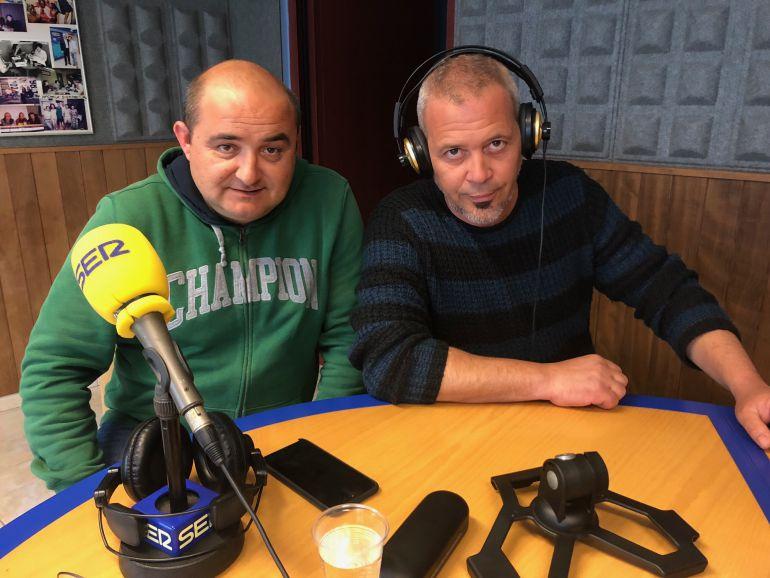 Iván Domenech y David Serra
