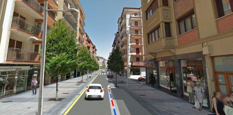El Ayuntamiento de Irun adjudica el contrato para la reurbanización de la calle Hondarribia