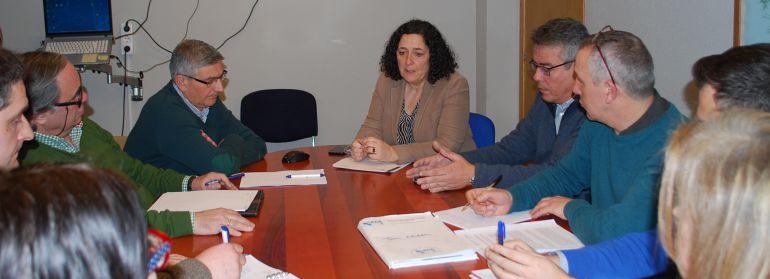 Reunión en la Xunta