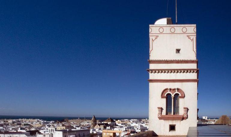 Una de las torres miradores de Cádiz