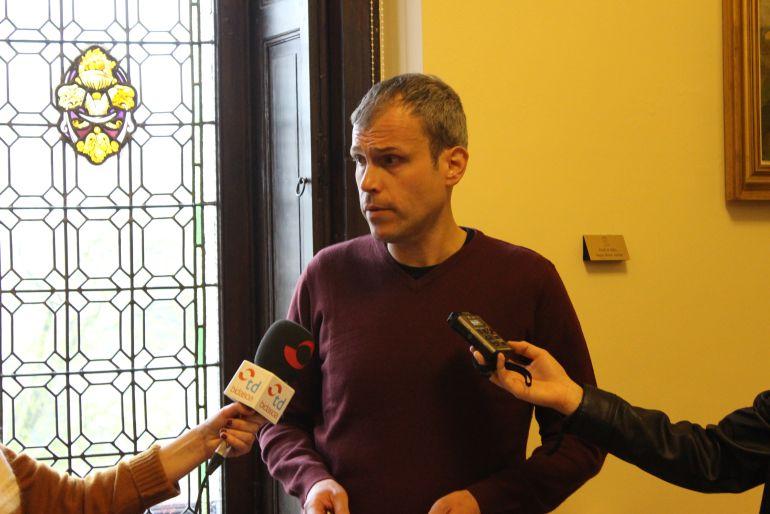 Sergio Corchón, delegado de Bienestar Social.