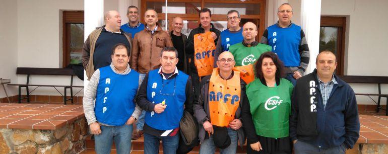 Encierro en Herrera de la Mancha por la igualdad salarial y la falta de personal