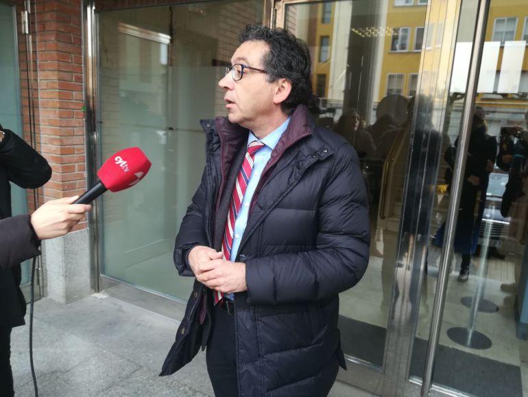 Luis Antonio Calvo, abogado de la Asociaciòn Clara Campoamor, acusación popular