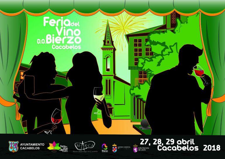 Cartel promocional de la Feria del Vino