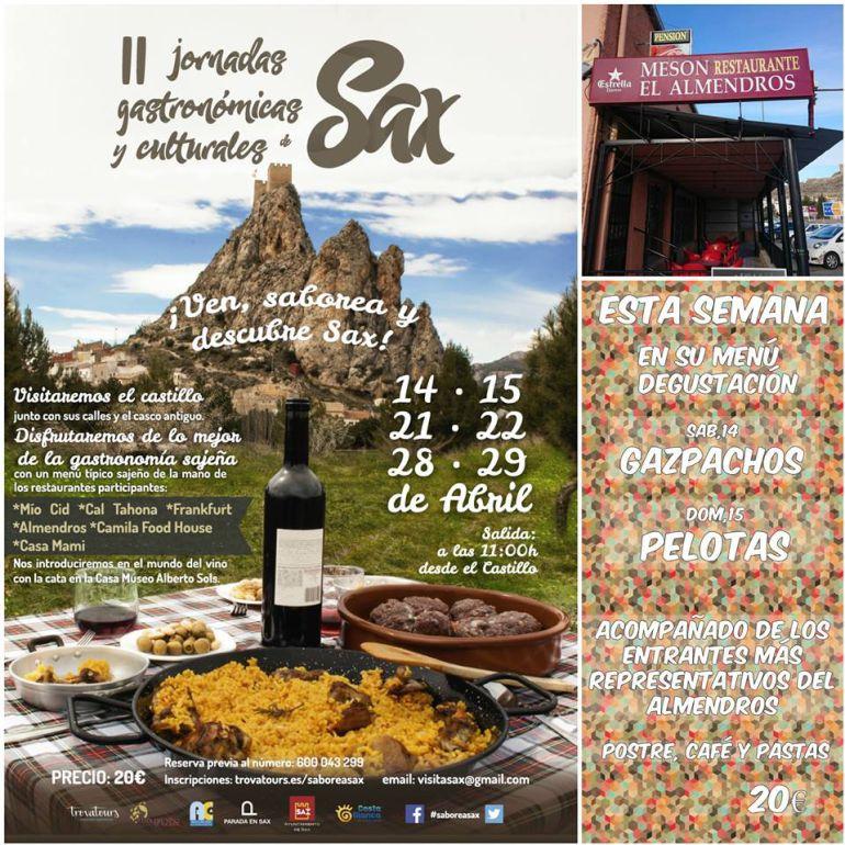 II Jorndas gastronómicas y culturales de Sax