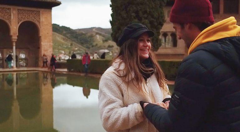 Jorge y Miri en la Alhambra