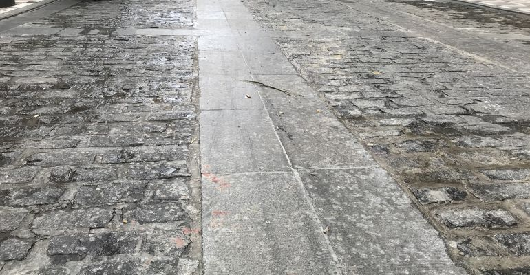 Cera en la calle Bernabé Soriano.