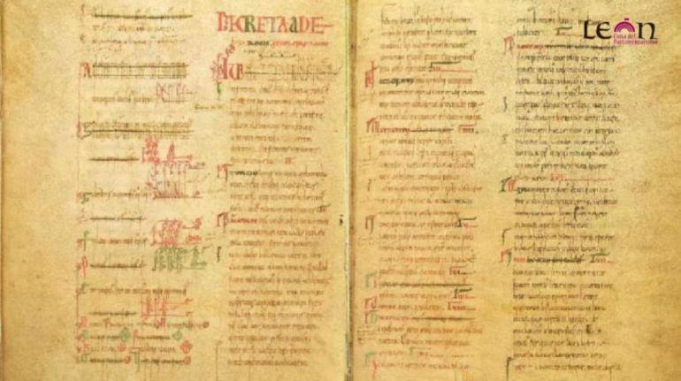 Imagen de los Decreta declarados Memoria del Mundo por la Unesco