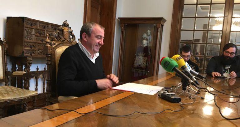 Darío Campos, presidente de la Diputación de Lugo